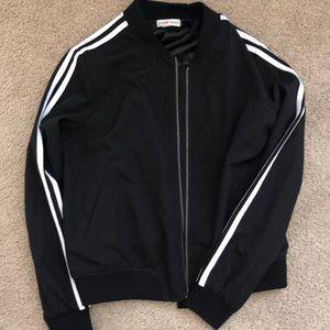 Jackets & Blazers - NWOT‼️ Black & White Striped Jacket